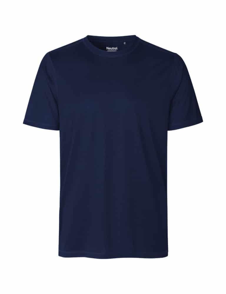 Denne t-skjorten er laget av 100% resirkulert polyester.