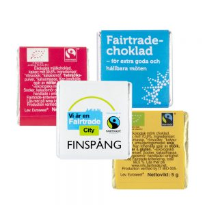 Fairtrade sjokolade